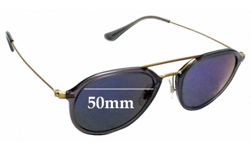 Sunglass Fix Sunglass Replacement Lenses for Ray Ban RB4253 - 50mm wide