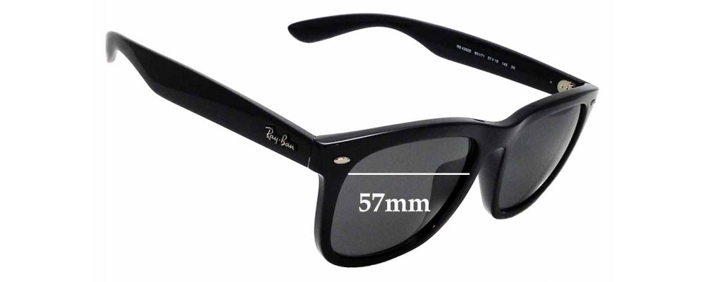 8cb8faaebb Sunglass Fix Sunglass Replacement Lenses for Ray Ban RB 4260D - 57mm wide