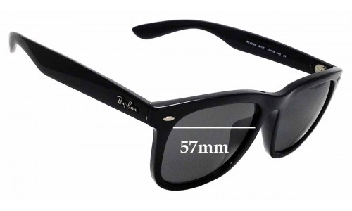 Sunglass Fix Sunglass Replacement Lenses for Ray Ban RB 4260D - 57mm wide