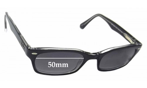 Sunglass Fix Sunglass Replacement Lenses for Ray Ban RB5150 - 50mm wide