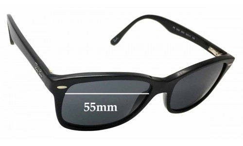 Sunglass Fix Sunglass Replacement Lenses for Ray Ban RB5228 - 55mm wide