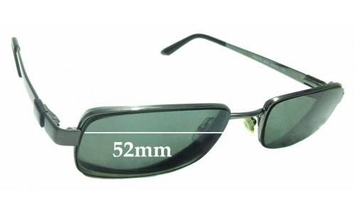 Sunglass Fix Sunglass Replacement Lenses for Ray Ban RB6075 - 52mm Wide