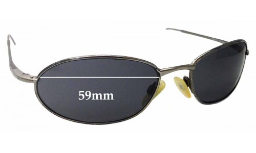 Sunglass Fix Sunglass Replacement Lenses for Ray Ban RB8013 W3120 - 59mm Wide