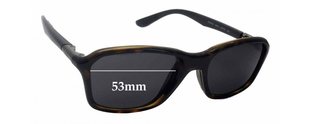 Sunglass Fix Sunglass Replacement Lenses for Ray Ban RB8952 - 53mm Wide