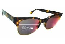 Sunglass Fix Sunglass Replacement Lenses for Retro Super Future Lele Infrared - 56mm Wide