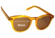 Sunglass Fix Sunglass Replacement Lenses for Retrovision Eyewear Mayfair RV2665 - 48mm Wide