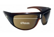 Sunglass Fix Sunglass Replacement Lenses for Rip Curl Durban - 69mm Wide