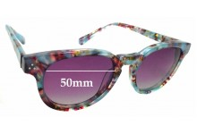 Sunglass Fix Sunglass Replacement Lenses for RKF Phoenix Biv - 50mm Wide