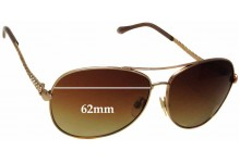 Sunglass Fix Sunglass Replacement Lenses for Roberto Cavalli Adhil 792S - 62mm Wide