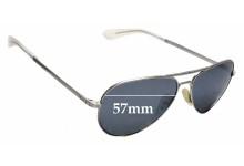 Sunglass Fix Sunglass Replacement Lenses for ROKA Phantom - 57mm Wide