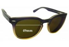 Sunglass Fix Sunglass Replacement Lenses for Roxy Sun Rx 14 - 49mm Wide