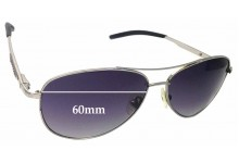Sunglass Fix Sunglass Replacement Lenses for Rudy Project Sky Major - 60mm Wide
