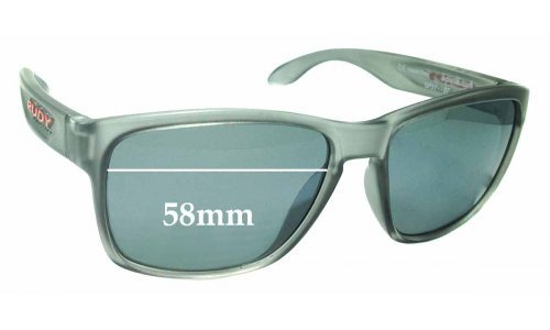 Sunglass Fix Sunglass Replacement Lenses for Rudy Project Spin Hawk SP31 - 58mm Wide