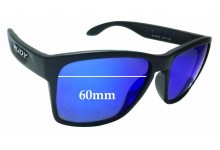 Sunglass Fix Sunglass Replacement Lenses for Rudy Project Spin Hawk SP31 - 60mm Wide