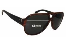 Sunglass Fix Sunglass Replacement Lenses for Ralph Lauren PH 4073 - 61mm Wide