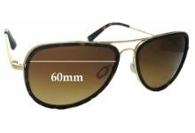 Sunglass Fix Sunglass Replacement Lenses for Salt Goodwin - 60mm Wide