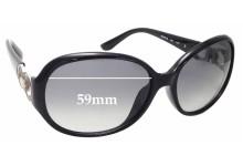 Sunglass Fix Sunglass Replacement Lenses for Salvatore Ferragamo SF601S - 59mm Wide