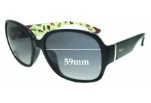 Sunglass Fix Sunglass Replacement Lenses for Salvatore Ferragamo SF603S - 59mm Wide