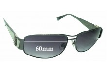 Sunglass Fix Sunglass Replacement Lenses for Sama Loree Rodkin Eye Couture Chad - 60mm Wide
