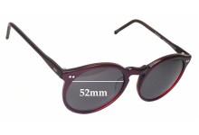 Sunglass Fix Sunglass Replacement Lenses for Sanford Hutton Colors in Optics Stutz C911 - 52mm Wide