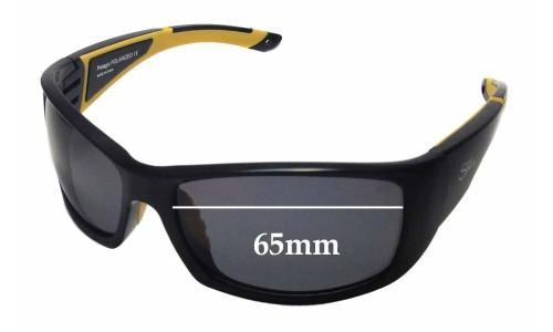Sunglass Fix Sunglass Replacement Lenses for SeaSpecs aFloat Pelagic - 65mm Wide
