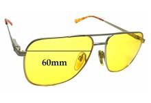Sunglass Fix Sunglass Replacement Lenses for Seiko Vintage T301 Titanium - 60mm Wide
