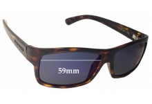 Sunglass Fix Sunglass Replacement Lenses for Serengeti Martino - 59mm Wide
