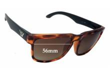 Sunglass Fix Sunglass Replacement Lenses for Shakas Hawaii - 56mm Wide
