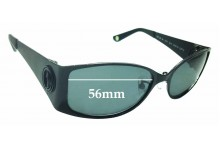 Sunglass Fix Sunglass Replacement Lenses for Shanghai Tang 8051 - 56mm Wide