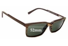 Sunglass Fix Sunglass Replacement Lenses for Shout! 16S6P - 52mm Wide