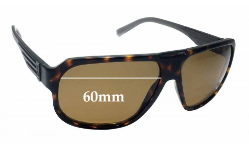 Sunglass Fix Sunglass Replacement Lenses for Smith Gibson - 60mm Wide