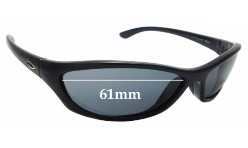 Sunglass Fix Sunglass Replacement Lenses for Smith Haven - 61mm Wide