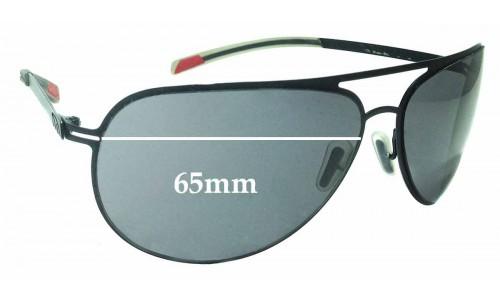 Sunglass Fix Sunglass Replacement Lenses for Smith Showdown - 65mm Wide