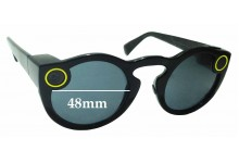 Sunglass Fix Sunglass Replacement Lenses for Snapchat Spectacles - 48mm Wide