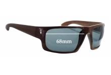Sunglass Fix Sunglass Replacement Lenses for Solari 016 - 68mm Wide x 44mm Tall