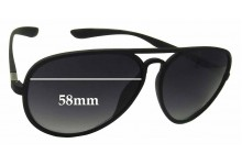 Sunglass Fix Sunglass Replacement Lenses for Soulcal & Co MF59 - 58mm Wide