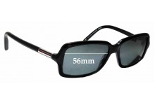 Sunglass Fix Sunglass Replacement Lenses for Tommy Hilfiger / Specsavers TH Sun RX 02 - 56mm Wide