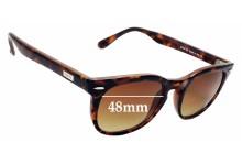 Sunglass Fix Sunglass Replacement Lenses for Spektre Memento Audere Semper - 48mm Wide