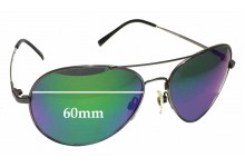 Sunglass Fix Sunglass Replacement Lenses for Spotters Ace - 60mm Wide