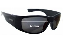 Sunglass Fix Sunglass Replacement Lenses for Spotters Coyote Plus - 63mm Wide