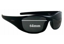 Sunglass Fix Sunglass Replacement Lenses for Spotters Pivot - 64mm Wide
