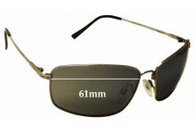 Sunglass Fix Sunglass Replacement Lenses for Spotters Pursuit - 61mm Wide
