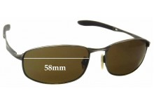 Sunglass Fix Sunglass Replacement Lenses for Spotters Shaft - 58mm Wide