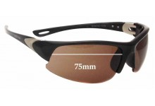 Sunglass Fix Sunglass Replacement Lenses for Spotters Static - 75mm Wide