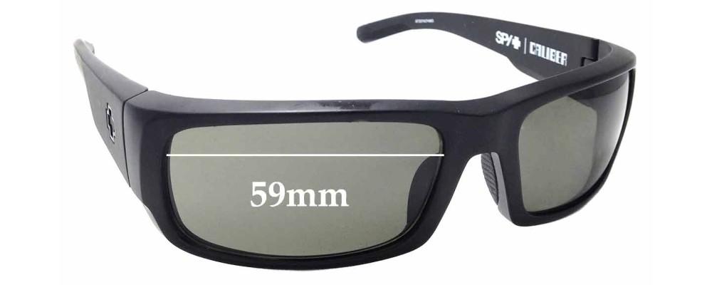 936df6c321 Sunglass Fix Sunglass Replacement Lenses for Spy Optics Caliber - 59mm Wide