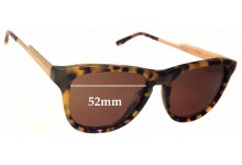 Sunglass Fix Sunglass Replacement Lenses for Stella McCartney SM4048 - 52mm Wide