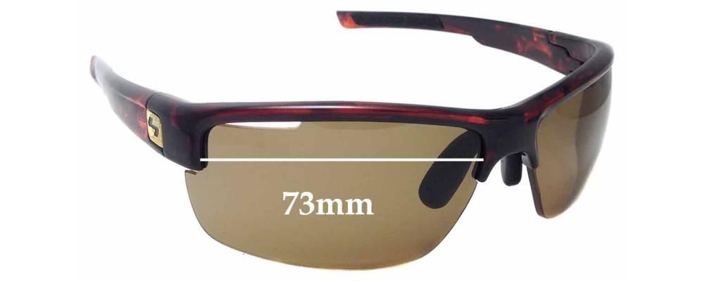 24563d332d Sunglass Fix Sunglass Replacement Lenses for Sundog Eyewear Draw - 73mm Wide