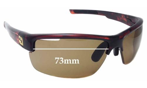 Sunglass Fix Sunglass Replacement Lenses for Sundog Eyewear Draw - 73mm Wide