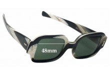 Sunglass Fix Sunglass Replacement Lenses for Sunmodes SRO Get Squared - 48mm Wide