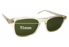 Sunglass Fix Sunglass Replacement Lenses for Thierry Lasry Bully 995 - 51mm Wide